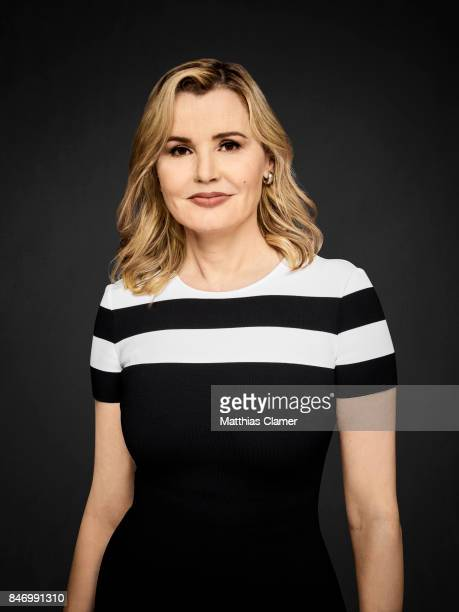 Actress Geena Davis from 'Exorcist' is photographed for Entertainment Weekly Magazine on July 22 2016 at Comic Con in the Hard Rock Hotel in San...