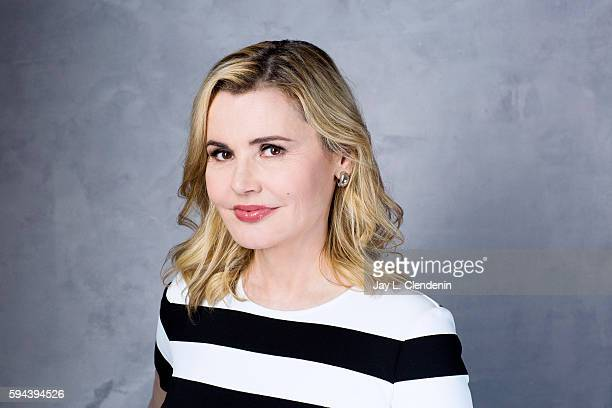 Actress Geena Davis of 'The Exocist' is photographed for Los Angeles Times at San Diego Comic Con on July 22 2016 in San Diego California