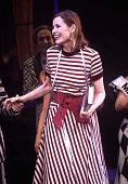 "Actress Geena Davis Honored At ""Beetlejuice"" On Broadway"