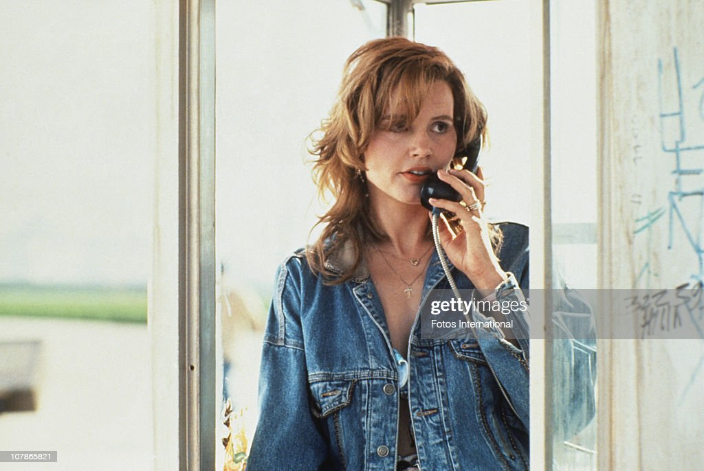Actress Geena Davis stars in the film 'Thelma And Louise' 1991