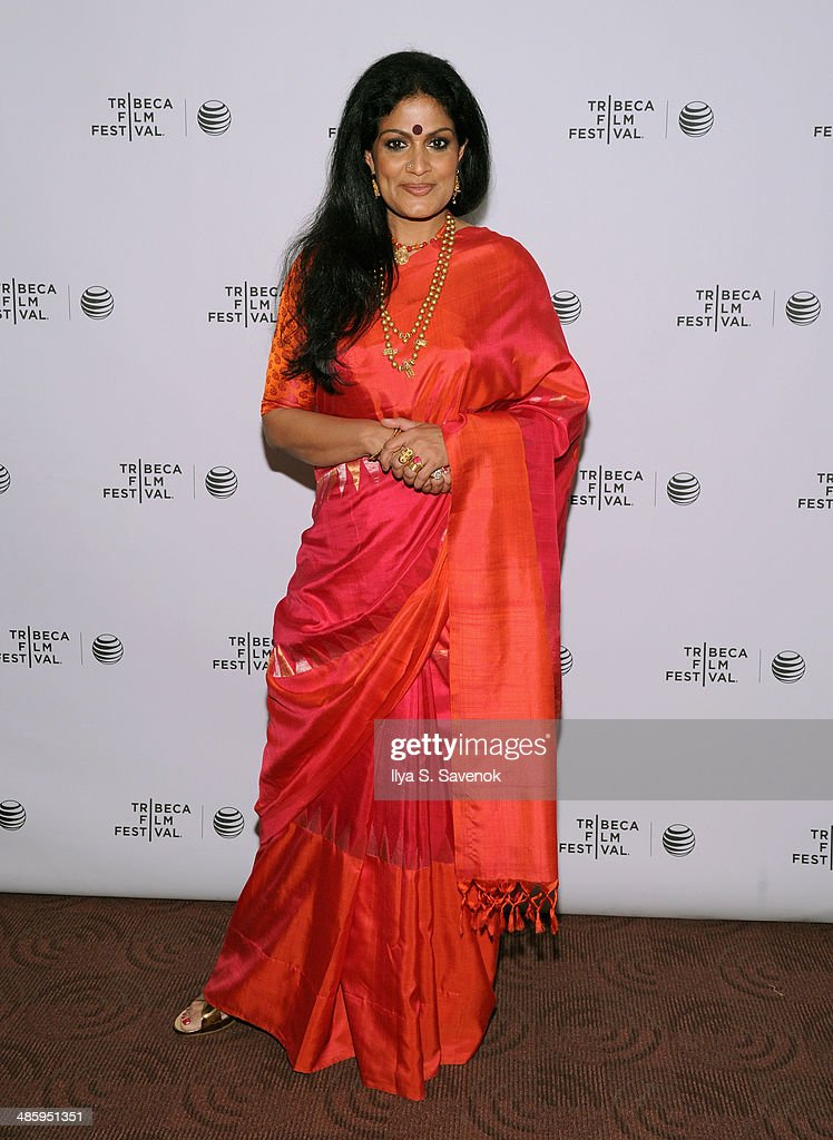 Actress Geeta Chandran attends the 'Vara: Blessing' Premiere during the 2014 Tribeca Film Festival at Chelsea Bow Tie Cinemas on April 21, 2014 in New York City.