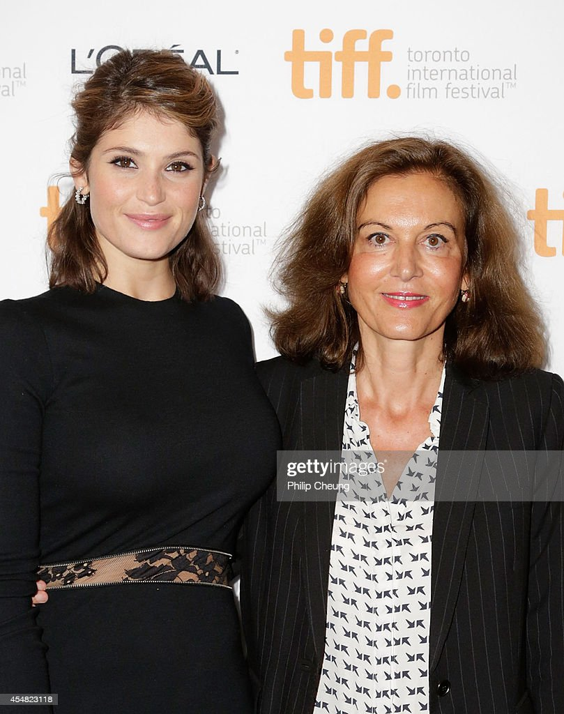 actress gemma arterton and director anne fontaine attend the premiere picture id454823118