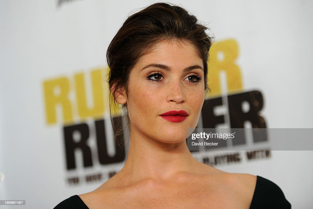 Actress Gemma Arterton arrives at the world premiere of Twentieth Century Fox and New Regency's film 'Runner Runner' at Planet Hollywood Resort & Casino on September 18, 2013 in Las Vegas, Nevada.