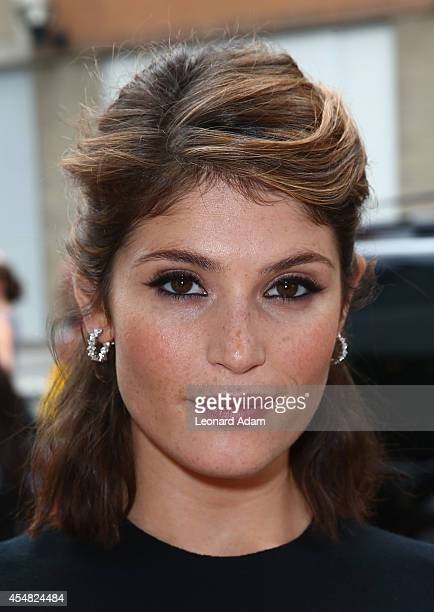 Actress Gemma Arterton attends the 'Gemma Bovery' Premiere during the 2014 Toronto International Film Festival at Winter Garden Theatre on September...