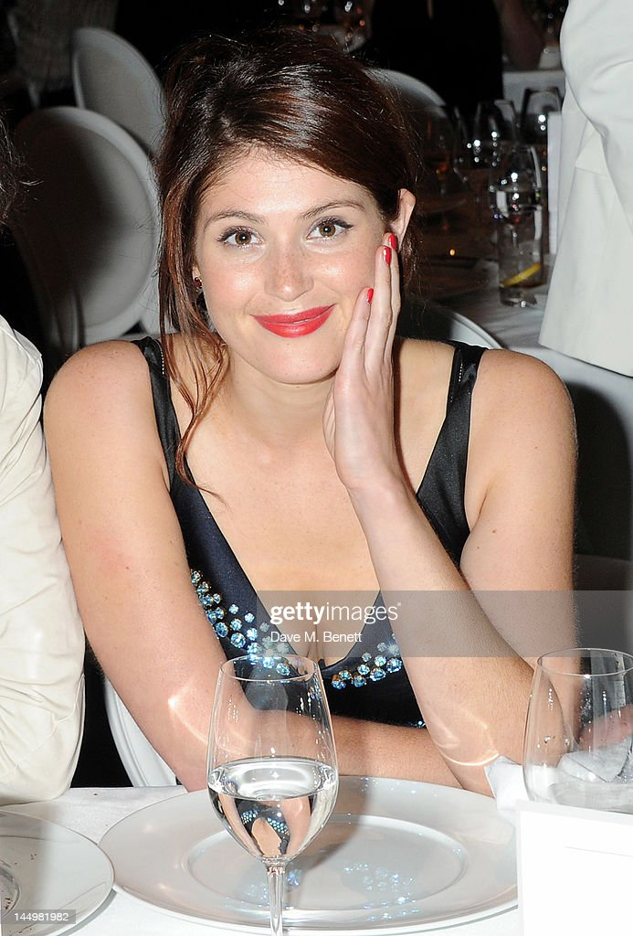 Actress Gemma Arterton attends the IWC and Finch's Quarterly Review Annual Filmmakers Dinner at Hotel Du Cap-Eden Roc on May 21, 2012 in Antibes, France.