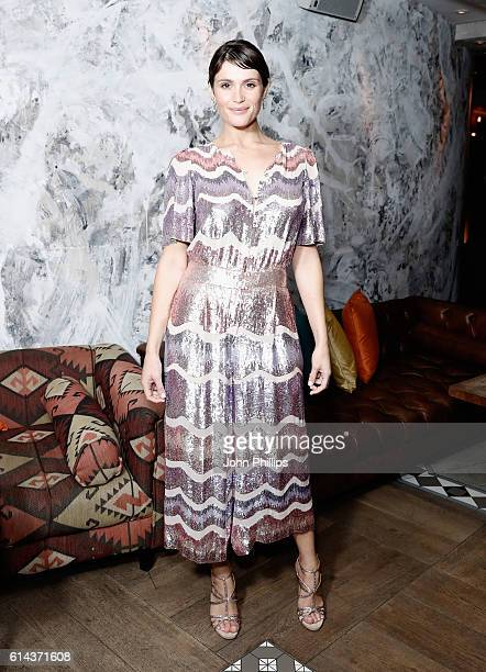 Actress Gemma Arterton attends 'Their Finest' after party during the 60th BFI London Film Festival at on October 13 2016 in London England