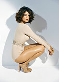 110258008 Actress Gemma Arterton is photographed for Madame Figaro on June 19 2014 in Paris France All Makeup by Sisley COVER IMAGE CREDIT MUST READ...