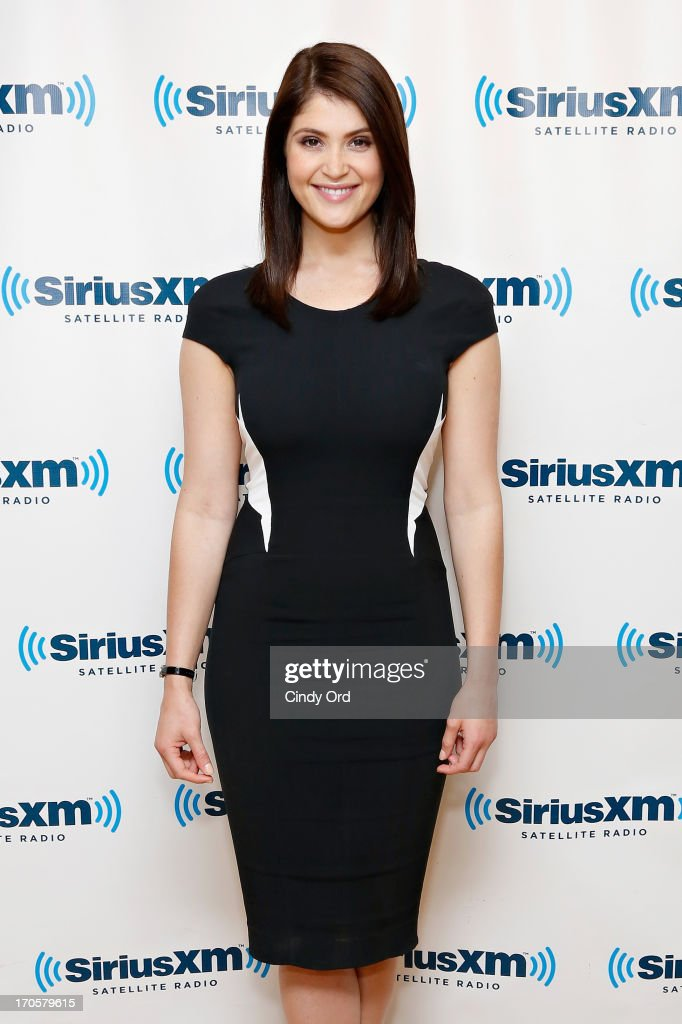 Actress Gemma Arterton visits the SiriusXM Studios on June 14, 2013 in New York City.