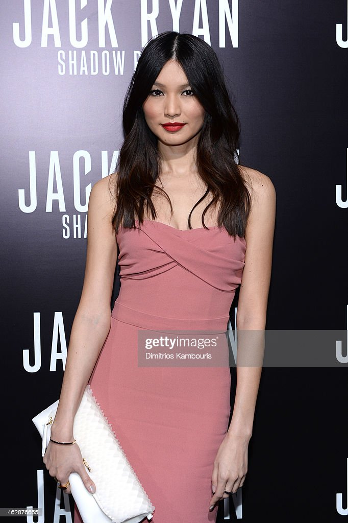 Actress <a gi-track='captionPersonalityLinkClicked' href=/galleries/search?phrase=Gemma+Chan&family=editorial&specificpeople=6928347 ng-click='$event.stopPropagation()'>Gemma Chan</a> attends the premiere of Paramount Pictures' 'Jack Ryan: Shadow Recruit' at TCL Chinese Theatre on January 15, 2014 in Hollywood, California.