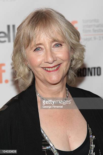Actress Gemma Jones attends the 'You Will Meet A Tall Dark Stranger' Premiere held at the Visa Screening Room At The Elgin Theatre during the 35th...