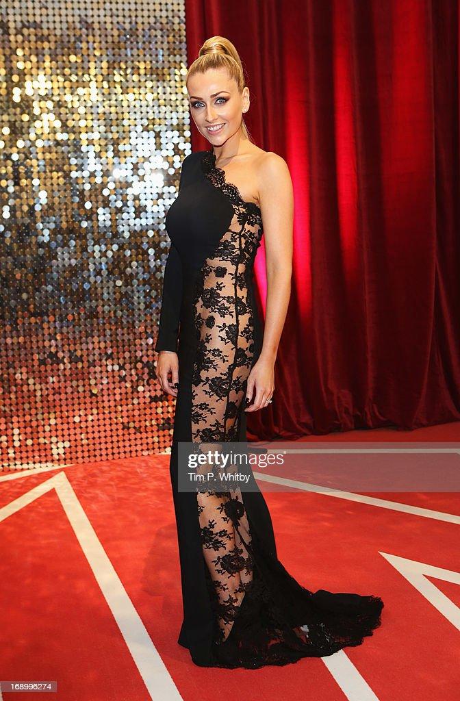 Actress <a gi-track='captionPersonalityLinkClicked' href=/galleries/search?phrase=Gemma+Merna&family=editorial&specificpeople=3983471 ng-click='$event.stopPropagation()'>Gemma Merna</a> attends the British Soap Awards at Media City on May 18, 2013 in Manchester, England.