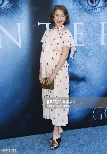 Actress Gemma Whelan arrives at the premiere of HBO's 'Game Of Thrones' Season 7 at Walt Disney Concert Hall on July 12 2017 in Los Angeles California