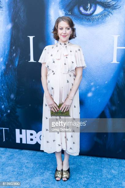 Actress Gemma Whelan attends the Premiere Of HBO's 'Game Of Thrones' Season 7 at Walt Disney Concert Hall on July 12 2017 in Los Angeles California