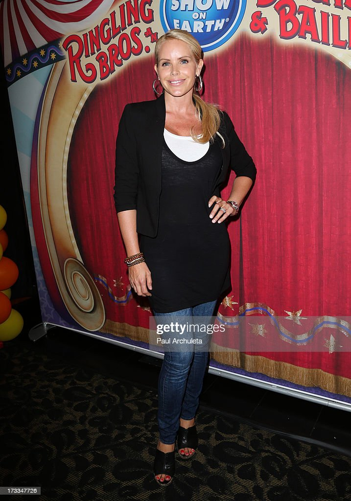 Actress Gena Lee Nolin attends the premiere of Ringling Bros. And Barnum & Bailey's 'Built To Amaze!' at the Staples Center on July 11, 2013 in Los Angeles, California.