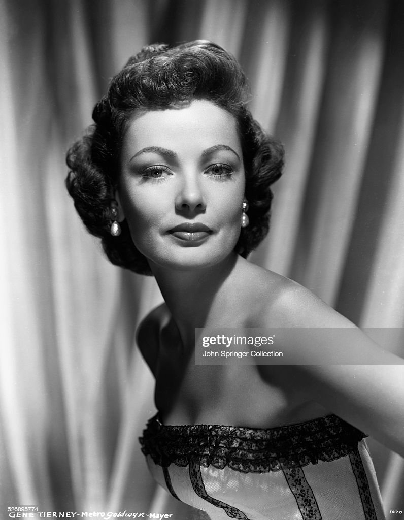 Actress <a gi-track='captionPersonalityLinkClicked' href=/galleries/search?phrase=Gene+Tierney&family=editorial&specificpeople=213598 ng-click='$event.stopPropagation()'>Gene Tierney</a>