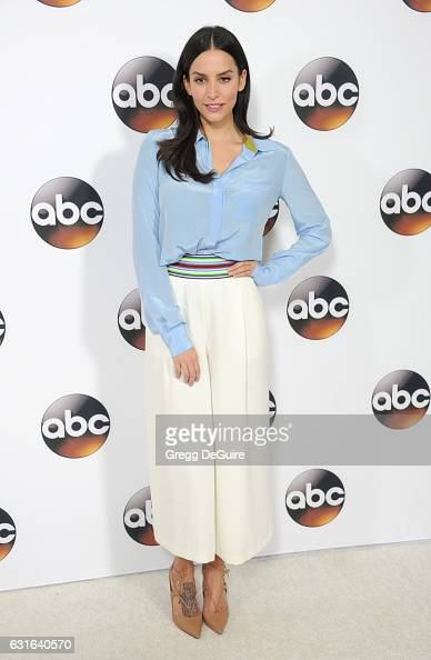 Actress Genesis Rodriguez arrives at the 2017 Winter TCA Tour Disney/ABC at the Langham Hotel on January 10 2017 in Pasadena California