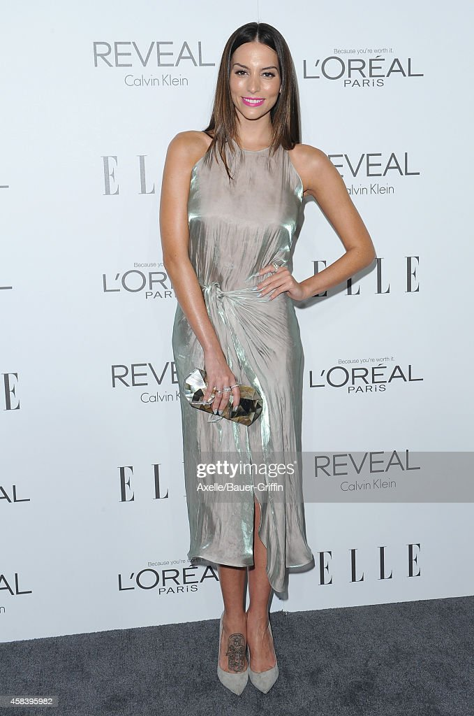 Actress Genesis Rodriguez arrives at the 21st Annual ELLE Women In Hollywood Awards at Four Seasons Hotel Los Angeles at Beverly Hills on October 20...