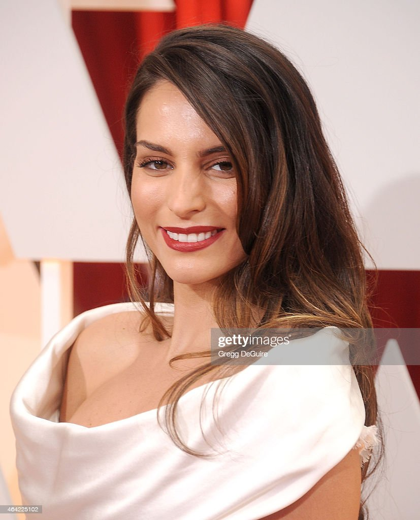 Actress Genesis Rodriguez arrives at the 87th Annual Academy Awards at Hollywood Highland Center on February 22 2015 in Hollywood California