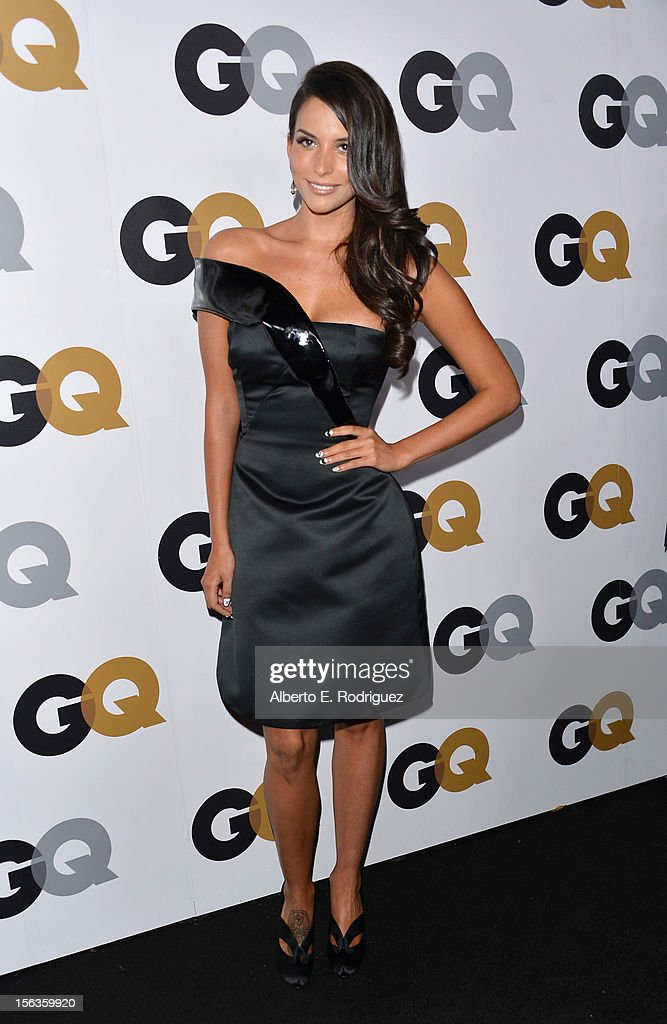 Actress Genesis Rodriguez arrives at the GQ Men of the Year Party at Chateau Marmont on November 13, 2012 in Los Angeles, California.