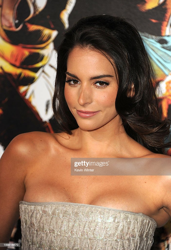 Actress Genesis Rodriguez arrives at the premiere of Lionsgate Films' 'The Last Stand' at Grauman's Chinese Theatre on January 14, 2013 in Hollywood, California.