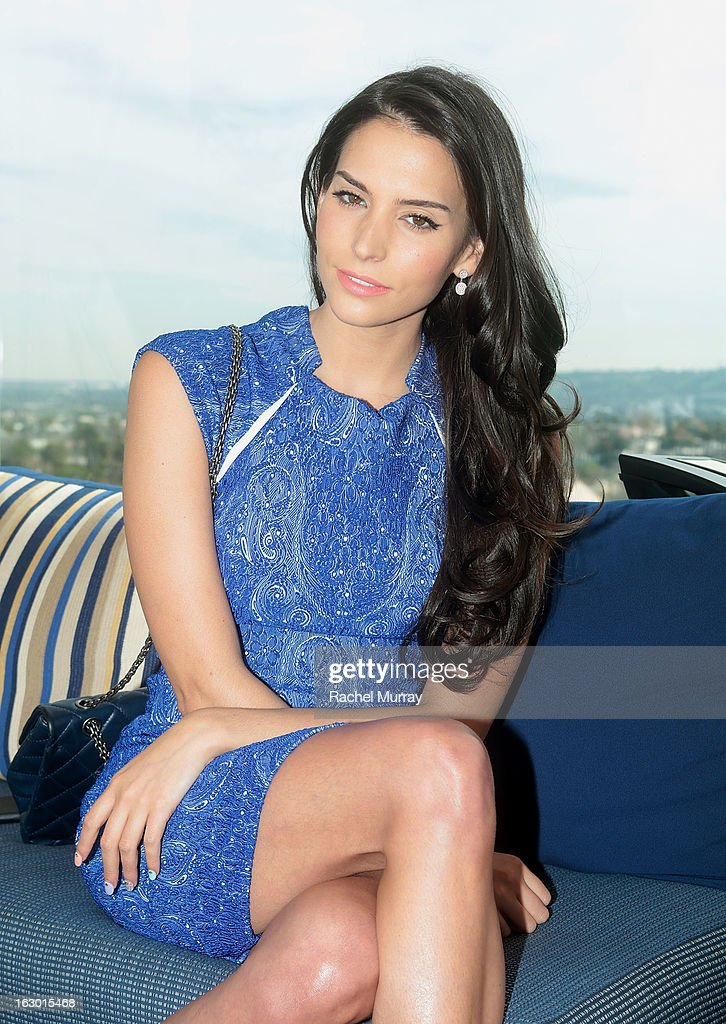 Actress Genesis Rodriguez attends Flaunt Magazine and Samsung Galaxy celebrate The Plutocracy Issue release hosted by cover Russell Westbrook at Caulfield's Bar and Dining Room at Thompson Hotel on March 2, 2013 in Beverly Hills, California.