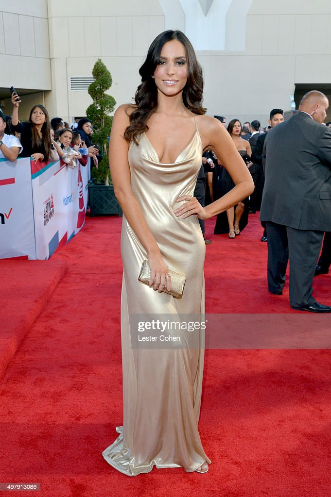 Actress Genesis Rodriguez attends the 16th Latin GRAMMY Awards at the MGM Grand Garden Arena on November 19 2015 in Las Vegas Nevada