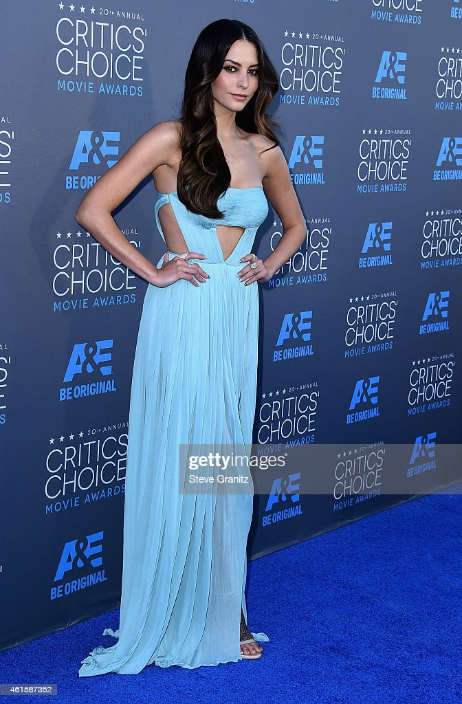 Actress Genesis Rodriguez attends the 20th annual Critics' Choice Movie Awards at the Hollywood Palladium on January 15 2015 in Los Angeles California