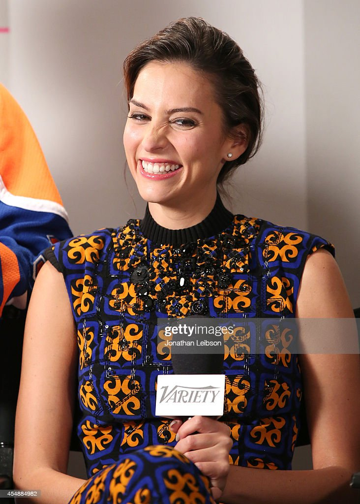 Actress Genesis Rodriguez attends the Variety Studio presented by Moroccanoil at Holt Renfrew during the 2014 Toronto International Film Festival on...