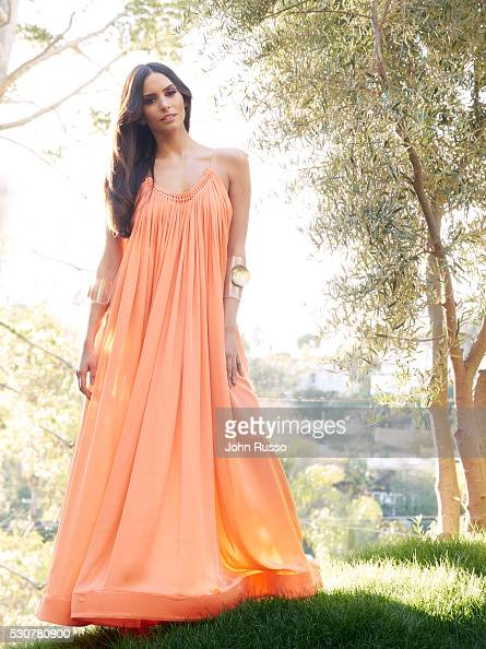 Actress Genesis Rodriguez is photographed for Latina Magazine on January 1 2016 in Los Angeles California ON DOMESTIC EMBARGO UNTIL JULY 1 2016