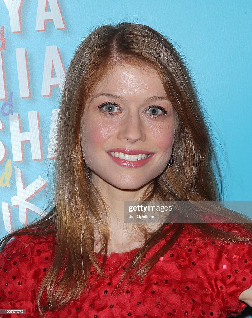 Actress Genevieve Angelson attends the after party for 'Vanya And Sonia And Masha And Spike' Broadway opening night at Gotham Hall on March 14, 2013 in New York City.