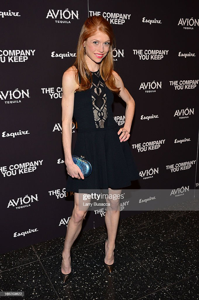 Actress Genevieve Angelson attends 'The Company You Keep' New York Premiere at The Museum of Modern Art on April 1, 2013 in New York City.