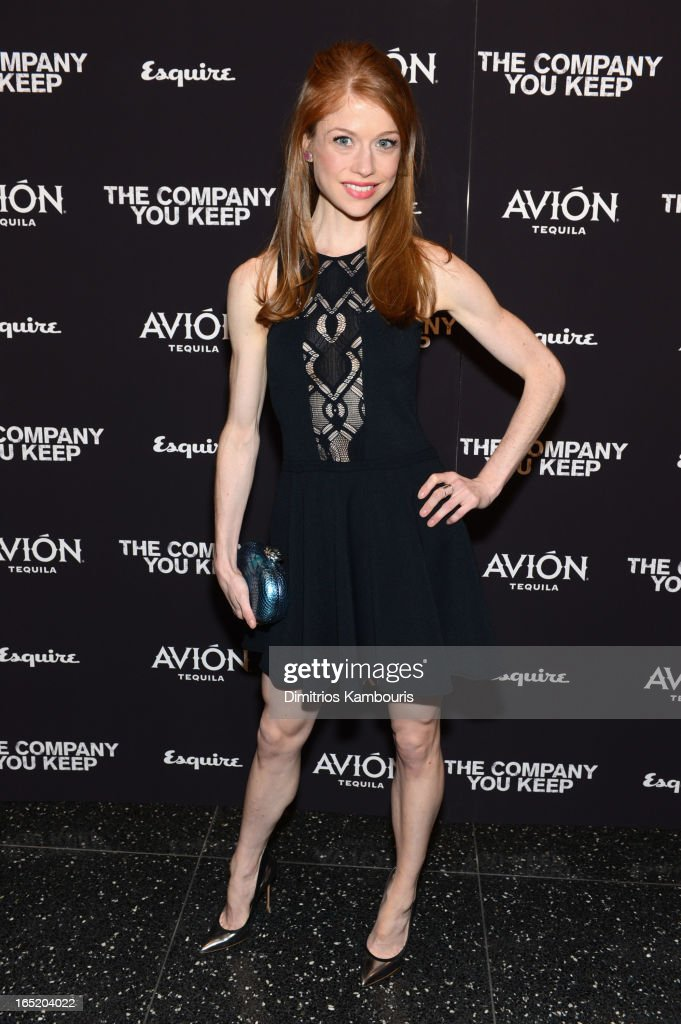 Actress Genevieve Angelson attends 'The Company You Keep' New York Premiere at MOMA on April 1, 2013 in New York City.