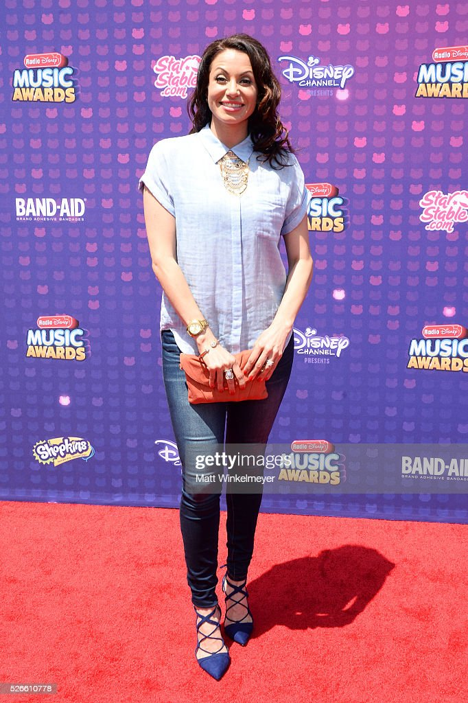 Actress Genevieve Goings attends the 2016 Radio Disney Music Awards at Microsoft Theater on April 30, 2016 in Los Angeles, California.