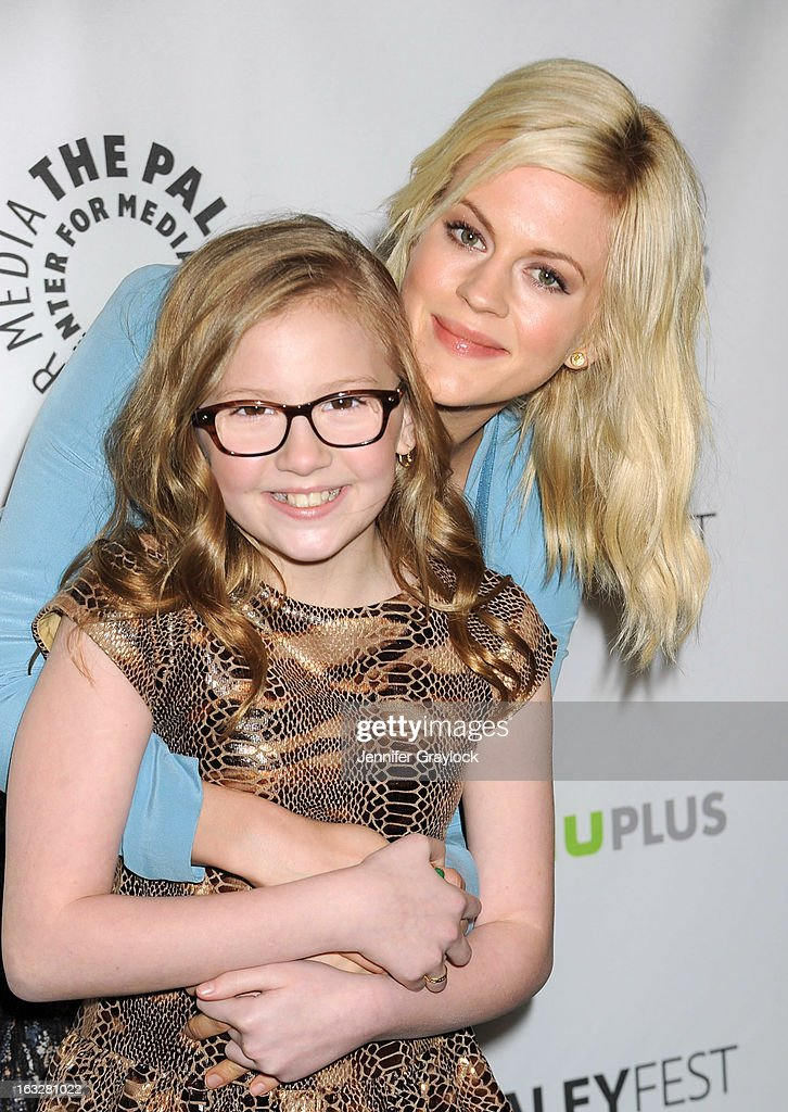 Actress Georgia King and Actress Bebe Wood attends the 30th Annual PaleyFest: The William S. Paley Television Festival Honors The New Normal held at Saban Theatre on March 6, 2013 in Beverly Hills, California.