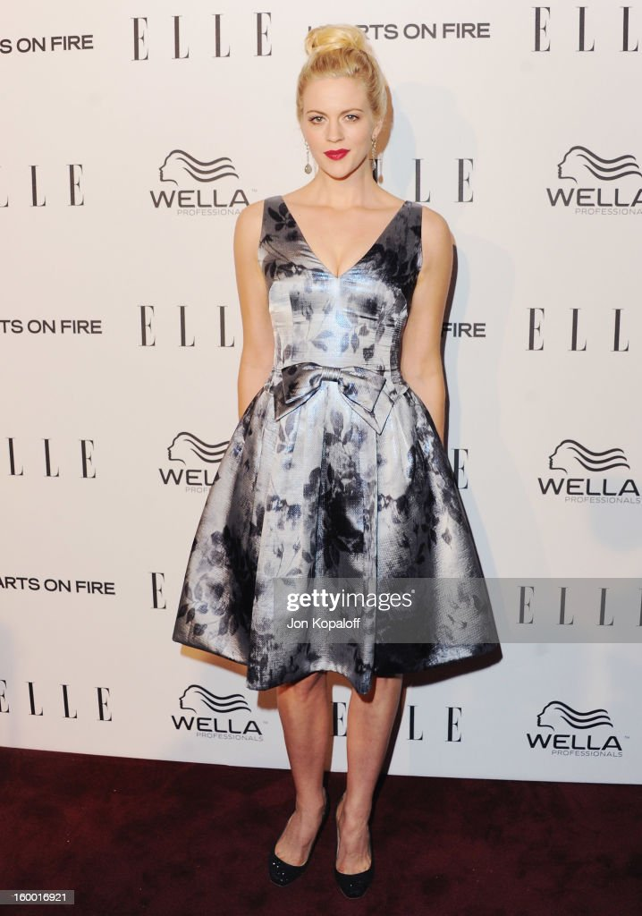 Actress Georgia King arrives at ELLE's 2nd Annual Women In TV Event at Soho House on January 24, 2013 in West Hollywood, California.