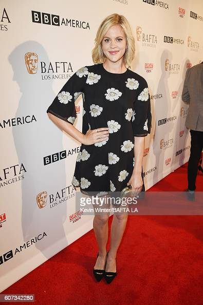 Actress Georgia King attends the BBC America BAFTA Los Angeles TV Tea Party 2016 at The London Hotel on September 17 2016 in West Hollywood California