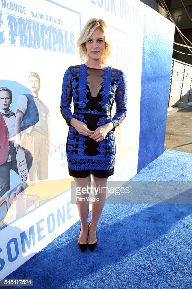 Actress Georgia King attends the Los Angeles premiere of HBO's 'Vice Principals' at Avalon Hollywood on July 7 2016 in Los Angeles California