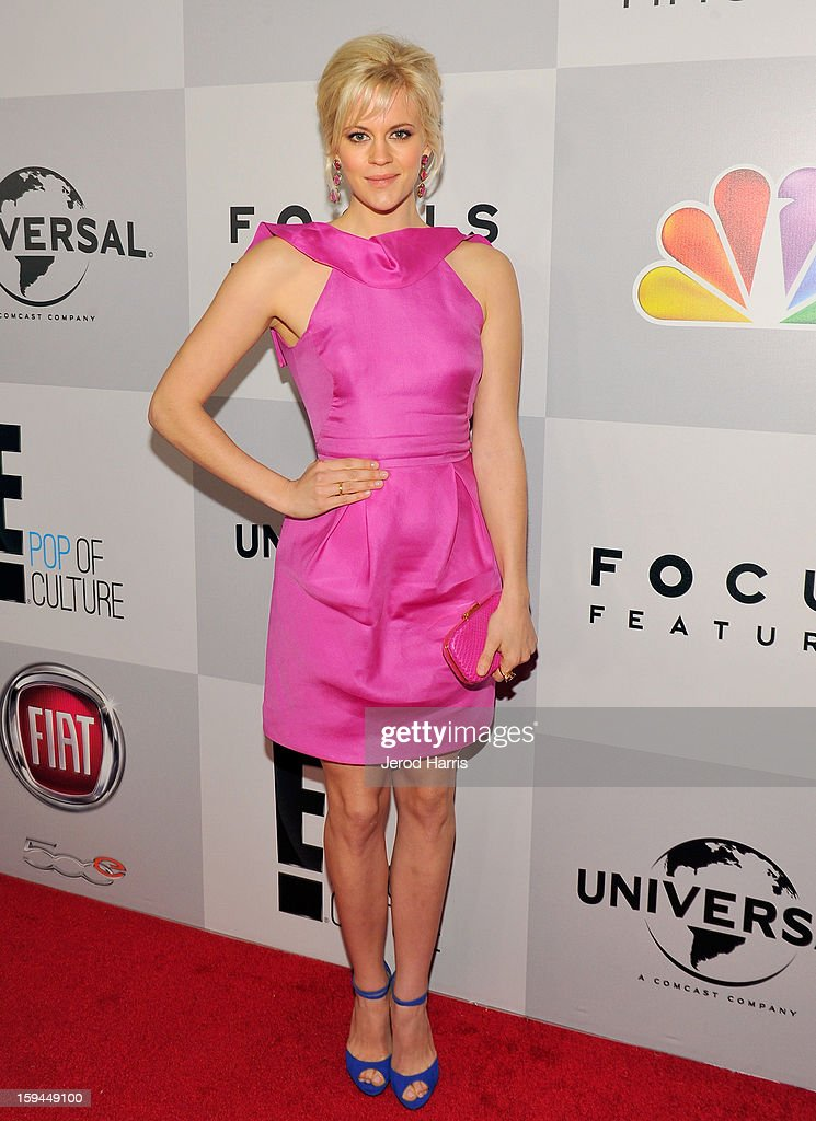 Actress Georgia King attends the NBCUniversal Golden Globes viewing and after party held at The Beverly Hilton Hotel on January 13, 2013 in Beverly Hills, California.
