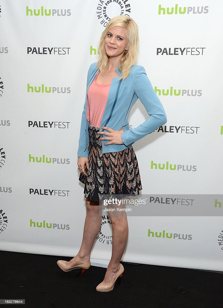 Actress Georgia King attends the Paley Center For Media's PaleyFest 2013 Honoring 'The New Normal' at Saban Theatre on March 6 2013 in Beverly Hills...