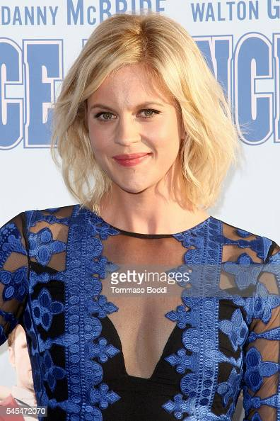 Actress Georgia King attends the premiere of HBO's 'Vice Principals' at Avalon Hollywood on July 7 2016 in Los Angeles California