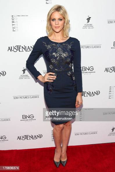 Actress Georgia King attends the premiere of Sony Pictures Classics' 'Austenland' at ArcLight Hollywood on August 8 2013 in Hollywood California