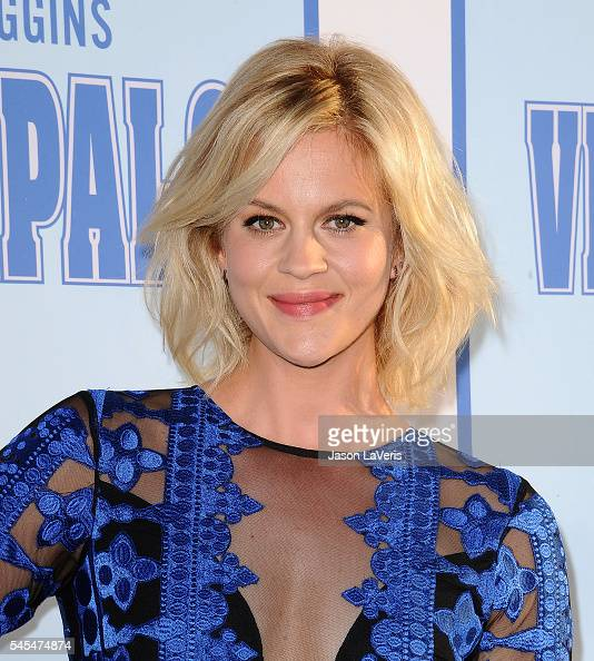 Actress Georgia King attends the premiere of 'Vice Principals' at Avalon Hollywood on July 7 2016 in Los Angeles California