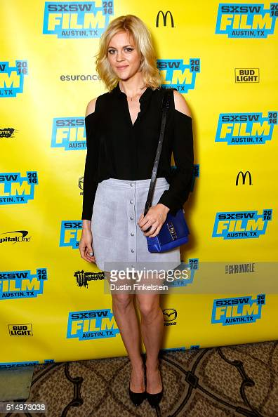 Actress Georgia King attends the premiere of 'Vice Principals' during the 2016 SXSW Music Film Interactive Festival on March 11 2016 in Austin Texas