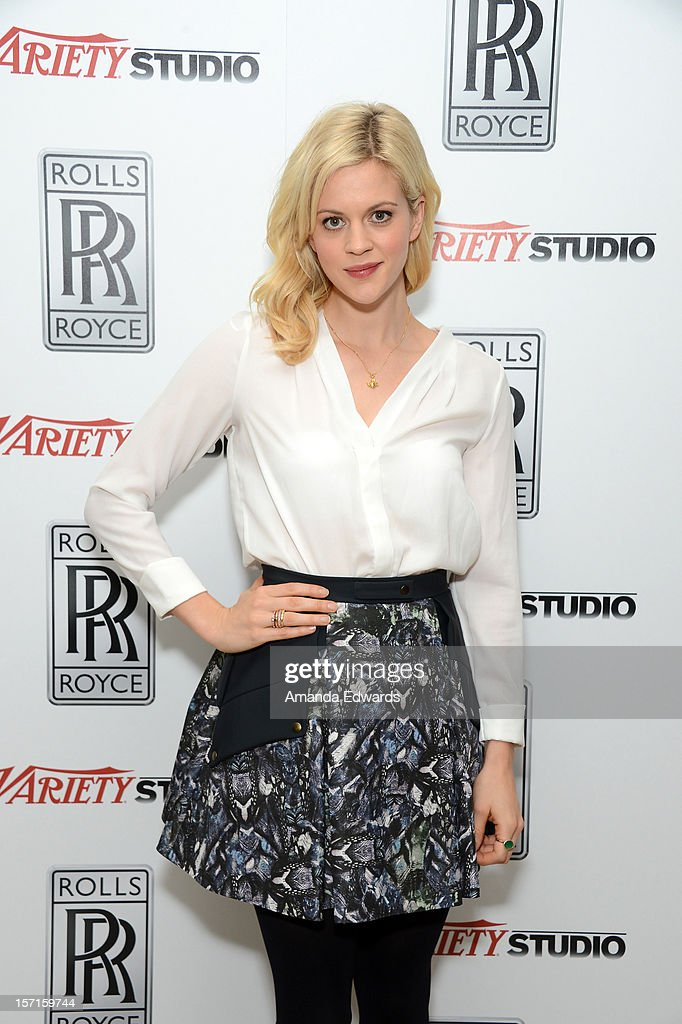 Actress Georgia King attends The Variety Studio: Awards Edition held at a private residence on November 29, 2012 in Los Angeles, California.