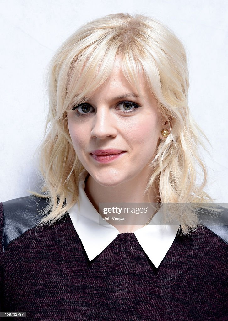 Actress Georgia King poses for a portrait during the 2013 Sundance Film Festival at the WireImage Portrait Studio at Village At The Lift on January 19, 2013 in Park City, Utah.