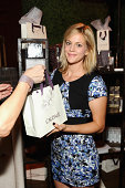 Actress Georgia King shopping Caudalie attends The Launch of Parker on Spring at The A List on September 16 2014 in Beverly Hills California