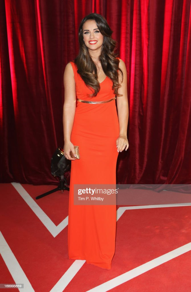 Actress Georgia May Foote attends the British Soap Awards at Media City on May 18, 2013 in Manchester, England.