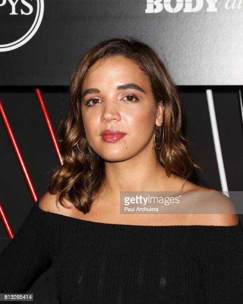 Actress Georgie Flores attends the ESPN Magazin Body Issue preESPYS party at Avalon Hollywood on July 11 2017 in Los Angeles California