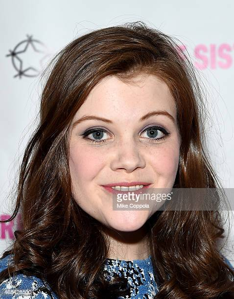 Actress Georgie Henley attends 'The Sisterhood Of Night' NY Premiere and After Party on April 2 2015 in New York City