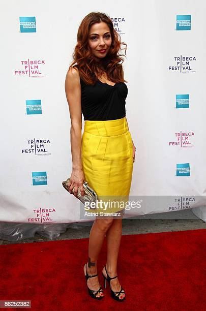 Actress Georgina Verbaan attends the premiere of 'Dazzle' during the 2009 Tribeca Film Festival at AMC Village VII on April 27 2009 in New York City